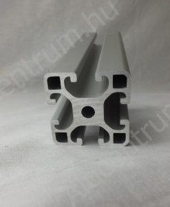 Alumínium gépépítő profil item 40x40 mm