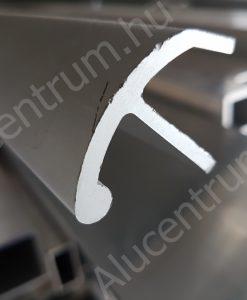 Alumínium hajó dörzsléc profil (2)
