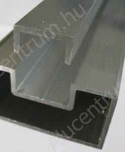 Alumínium kerítésléc tartó u-profillal